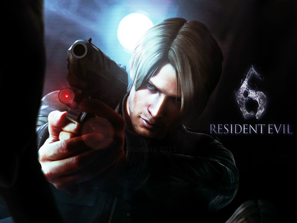 Free Download Resident Evil 6 Wallpaper Leon By Betka
