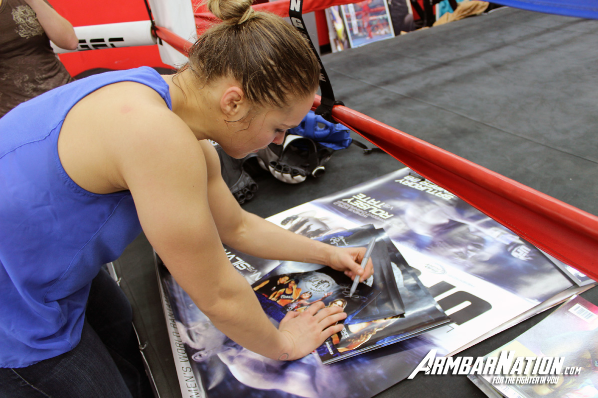 Ronda Rousey UFC 170 Training ArmbarNation 1200x800