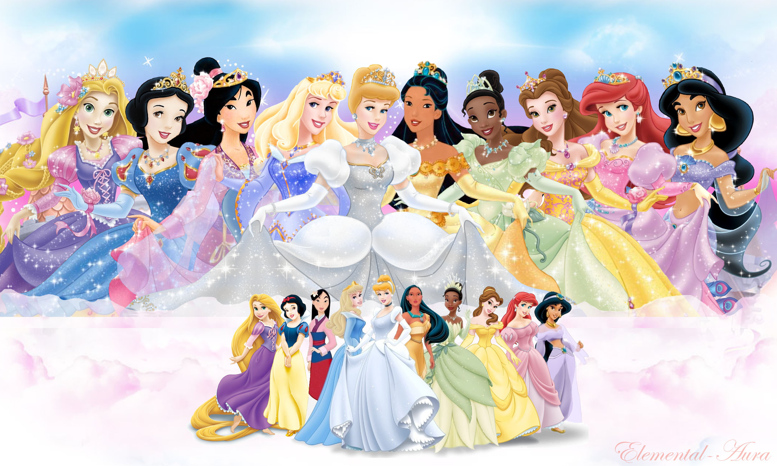 Disney Characters Wallpaper HD wallpaper background 2500x1500