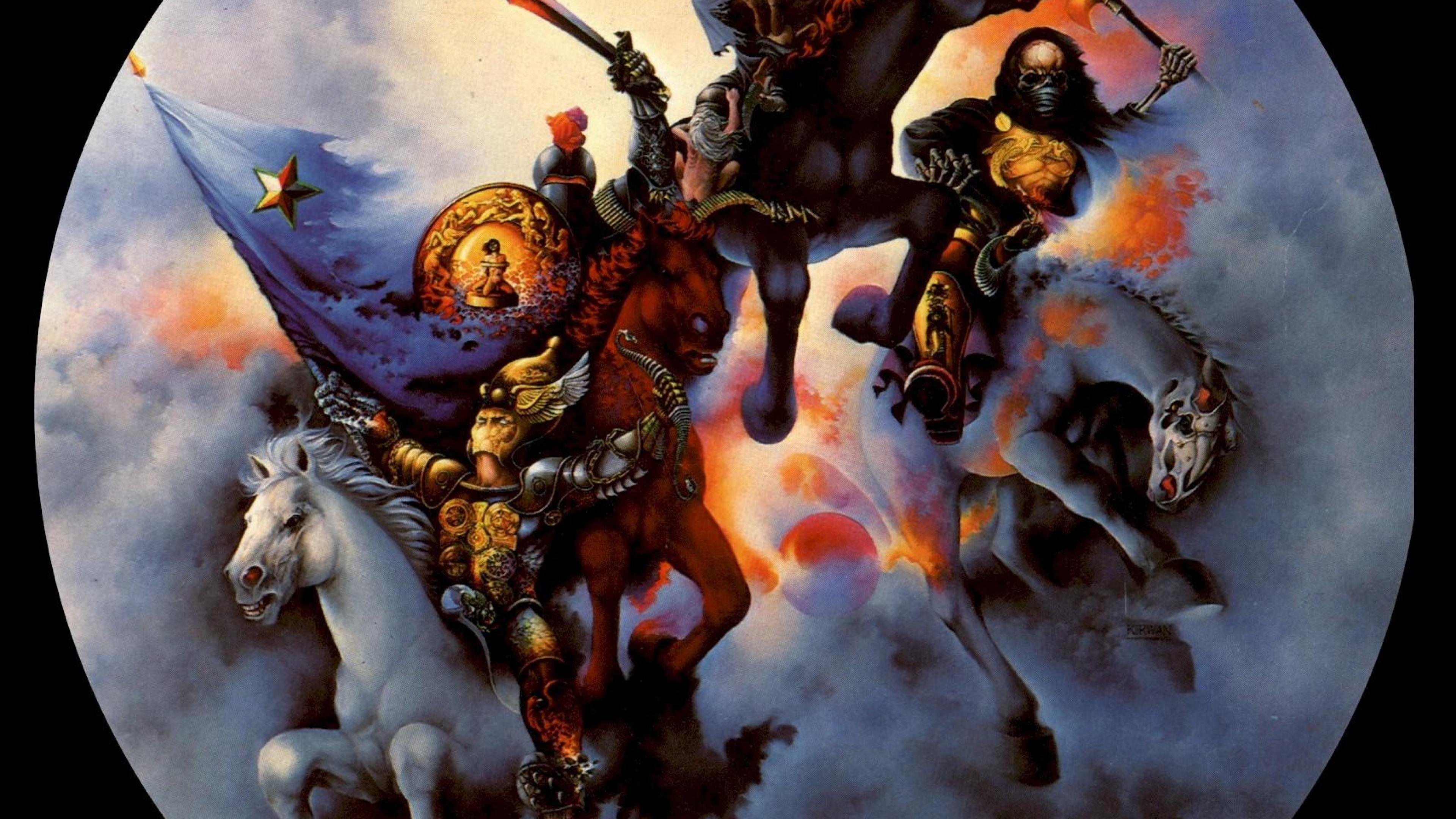 Christian Religious Horsemen of apocalypse HD Wallpapers 3840x2160
