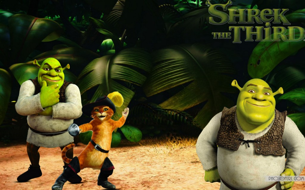 Free Download Shrek Donkey And Puss Wallpaper For Computer