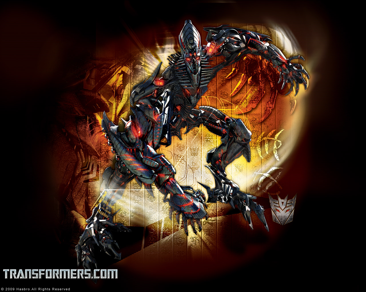 TRANSFORMERS WALLPAPER THE FALLENWallpapersHasbro 1280x1024