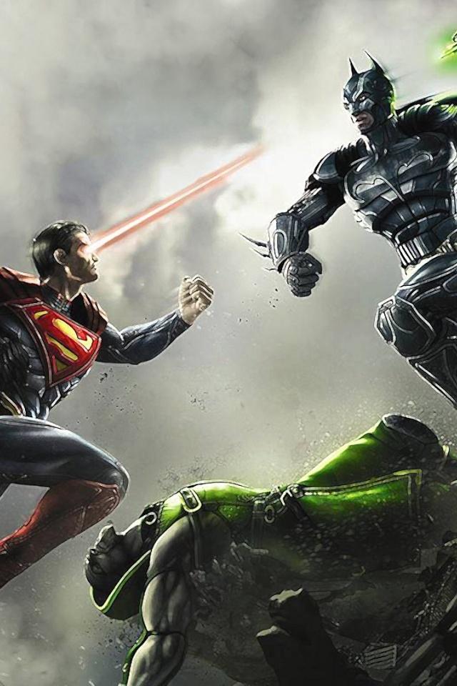 640x960 Batman vs Superman Iphone 4 wallpaper 640x960