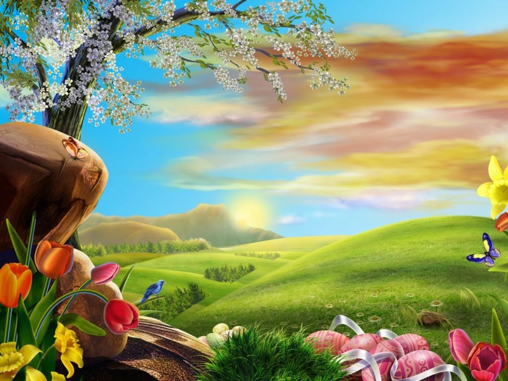 HD Desktop Backgrounds hd wallpapers Easter eggs HD Wallpaper 1024x768