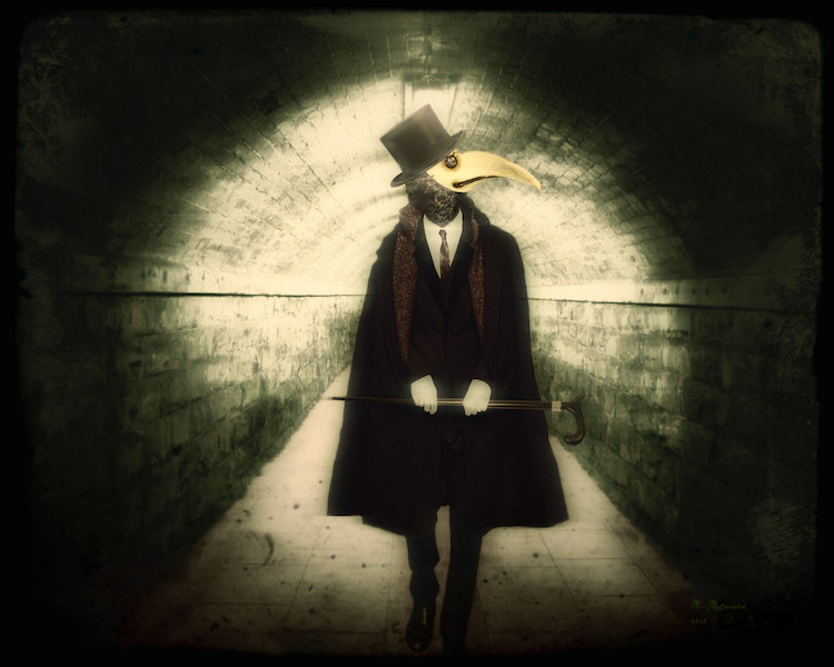 The gallery for    Creepy Plague Doctor Wallpaper 750x600