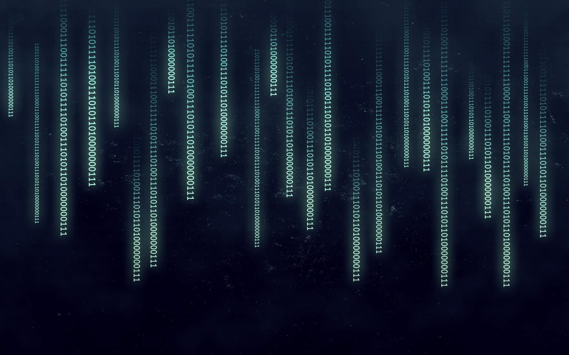Binary Code Wallpapers 1920x1200