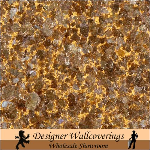 Hiya Mica   Royal Gold Bronze [FXX   3220] Designer Wallcoverings 500x500