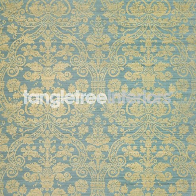 Blue And Gold Damask Wallpaper Wallpaper 660x660