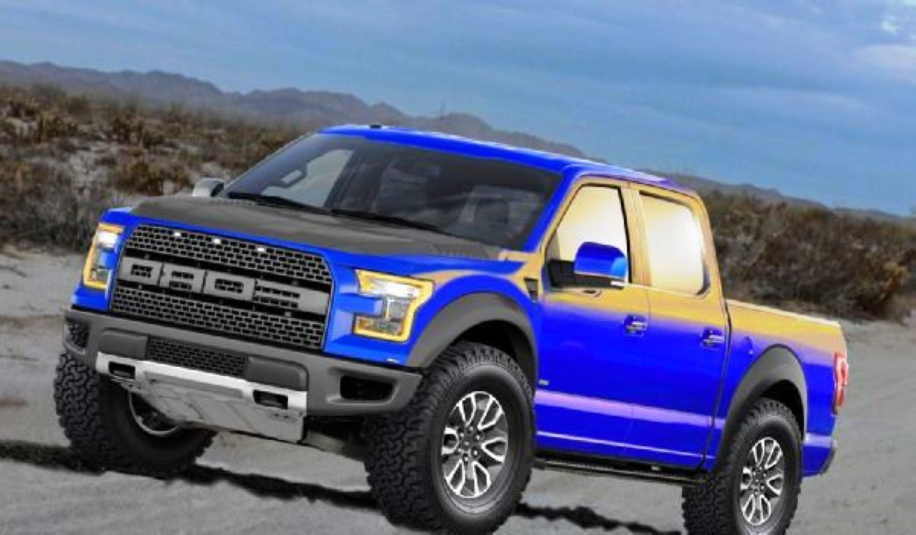 2015 Ford Raptor Wallpaper HD Widescreen 1313x768