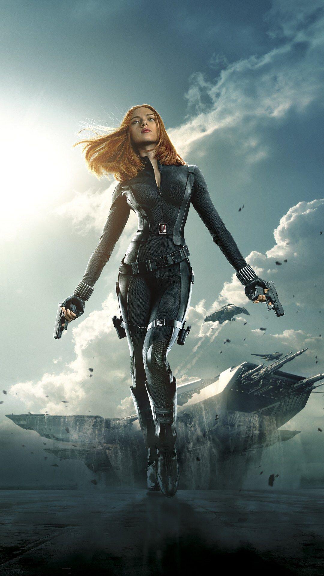 Scarlett Johansson Black widow marvel Black widow wallpaper 1080x1920