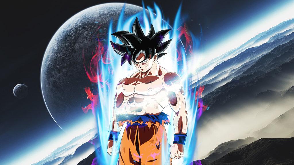Goku Ultra Instinct migatte no gokui by trebolok on 1024x576