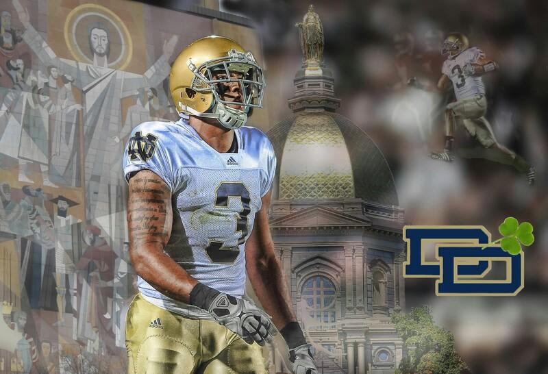 Michael Floyd Notre Dame Football   Wallpapers Pinterest 800x546