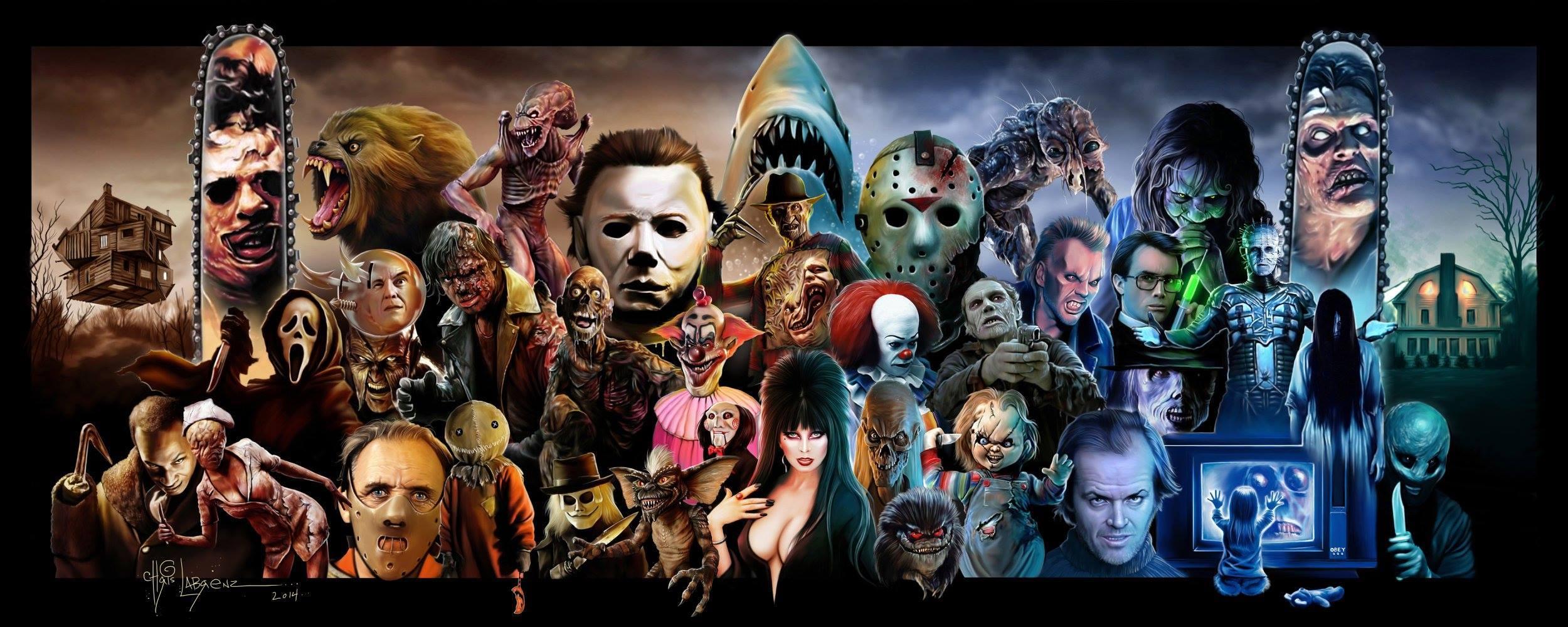 Horror Movie Icons Wallpaper - WallpaperSafari