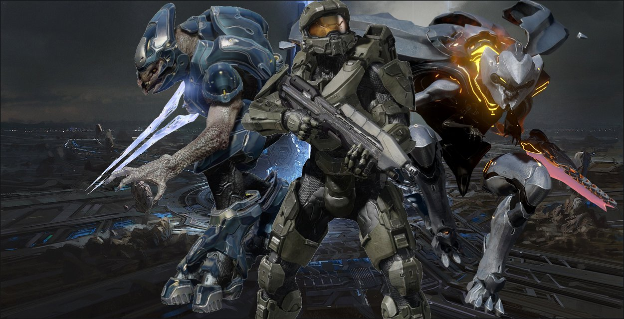 Halo 4 wallpaper unsc promethean covenant by Miraak29 on 1251x639