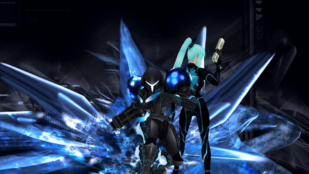 Zero suit samus tribute smallerr - 4 3