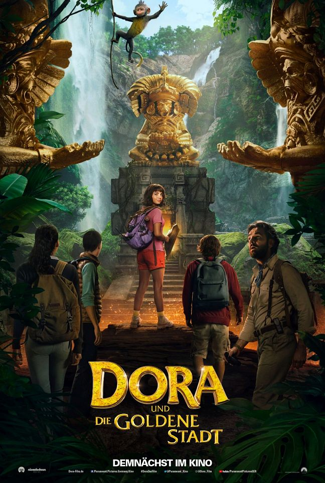 Dora and the Lost City of Gold 2019 648x961