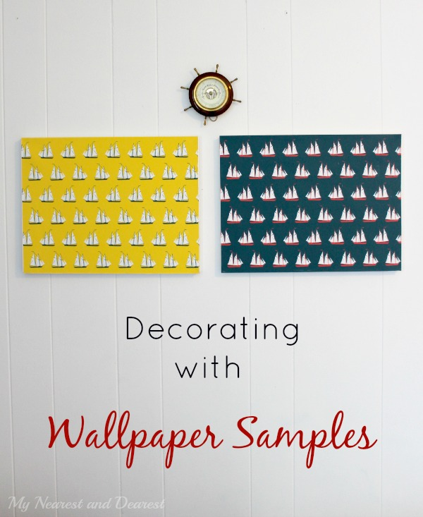 Decorating with Wallpaper Samples and where to buy them online A fun 600x733