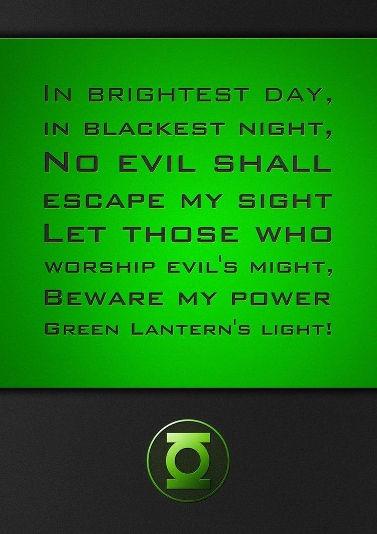GreenLantern oath by parigraf 751x1063