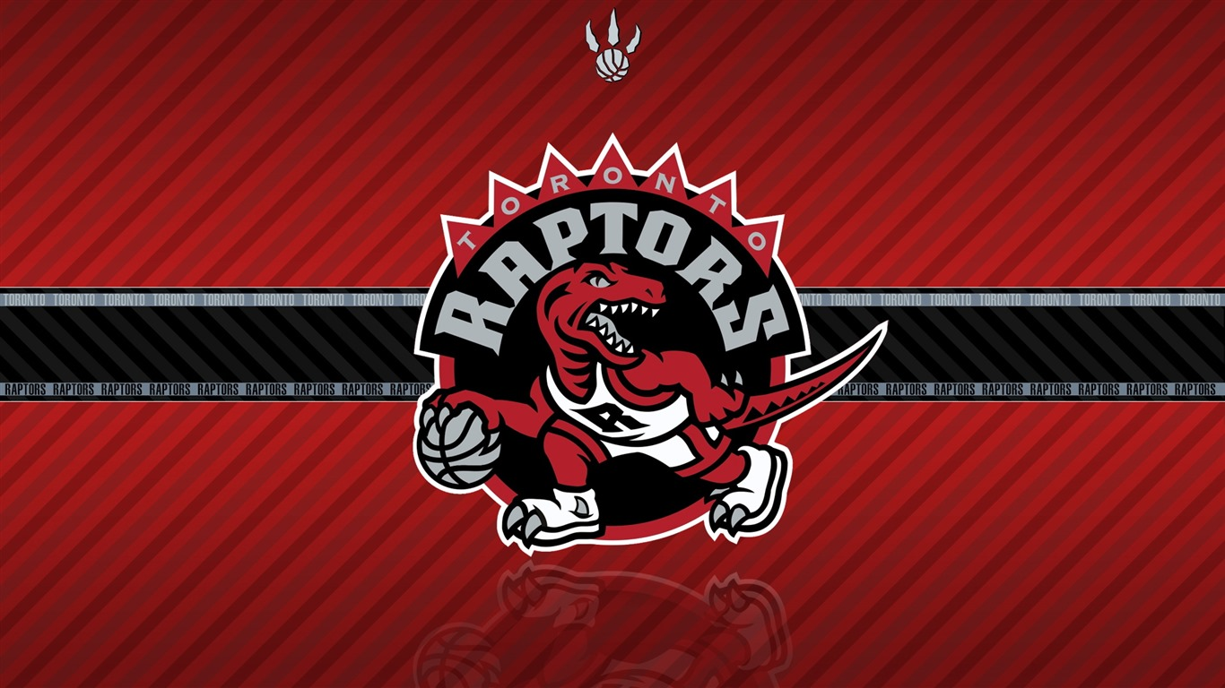 Toronto Raptors team logo widescreen HD wallpaper   1366x768 Wallpaper 1366x768