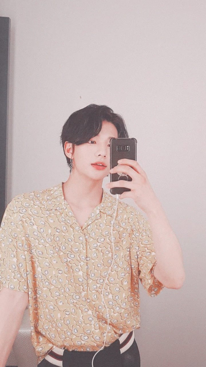 Free Download Hyunjin Lockscreen Discovered By Miles On We