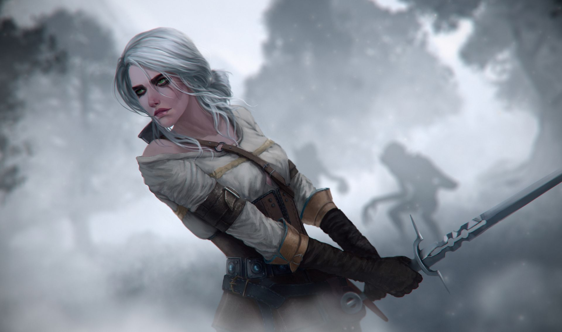 35 Witcher 3 Ciri Wallpapers   WallpaperBoat 1920x1134