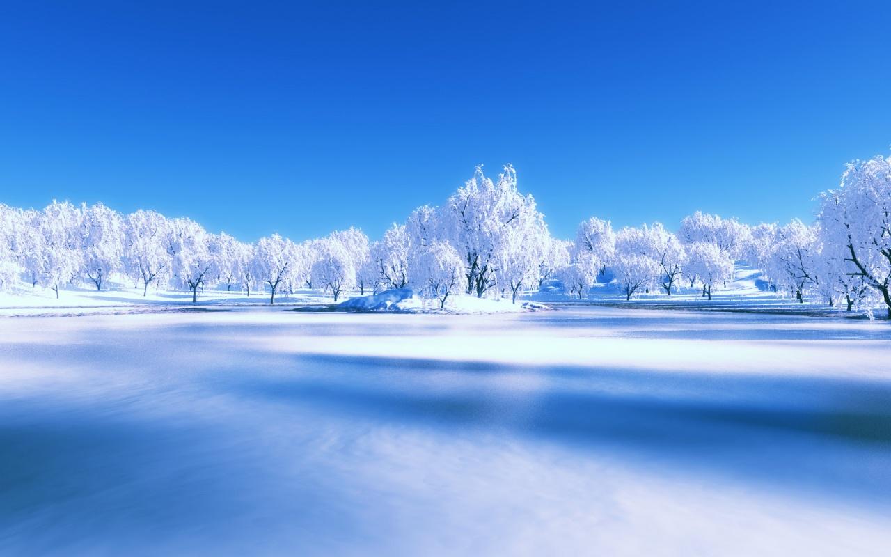 winter scenes wallpaper for computer