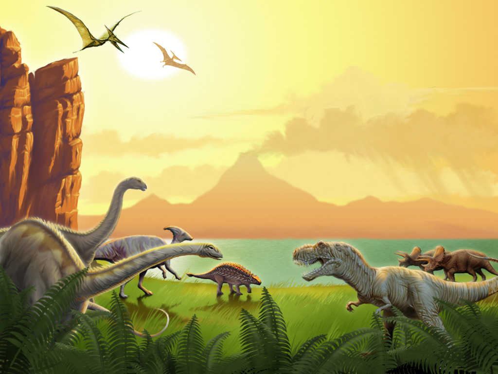 Beautiful Wallpapers For Desktop Dinosaur Wallpapers 1024x768