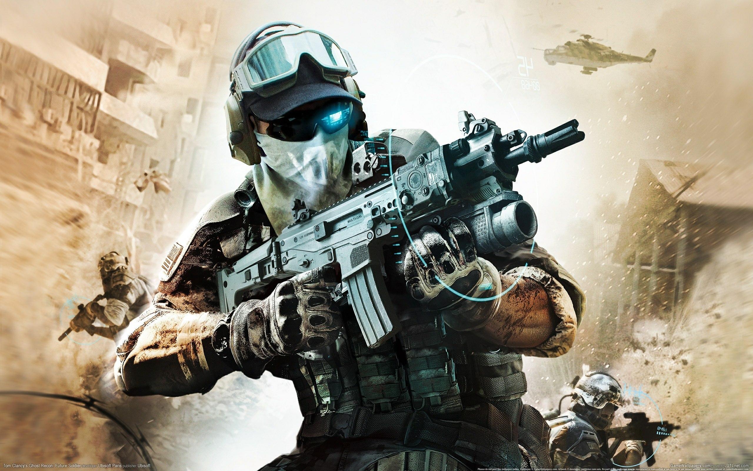 Ghost Recon Future Soldier 4 by DarkApp 2560x1600