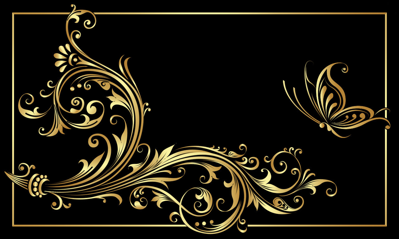 Black and gold by moonbeam1212 1280x768
