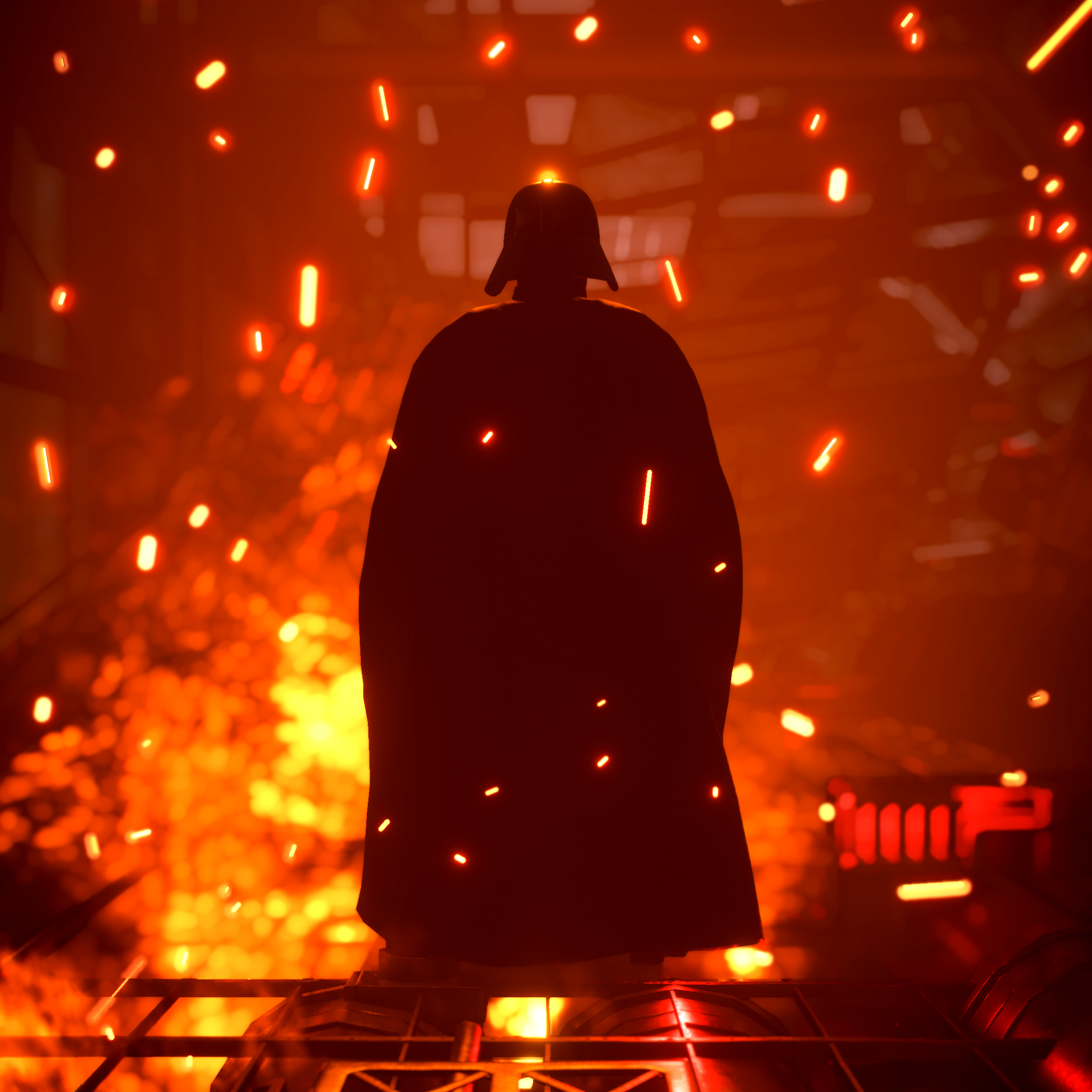 This really cool Darth Vader wallpaper i found Thought Ill 2155x2155