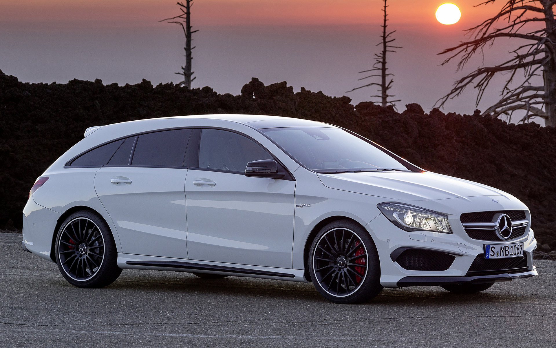 2015 Mercedes AMG CLA 45 Shooting Brake   Wallpapers and HD Images 1920x1200