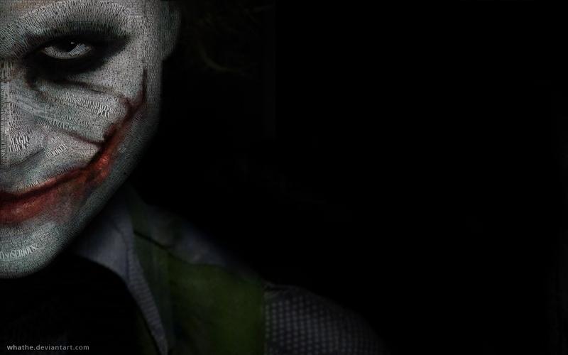 The Joker batman the joker smiles heath ledger 1280x800 wallpaper 800x500