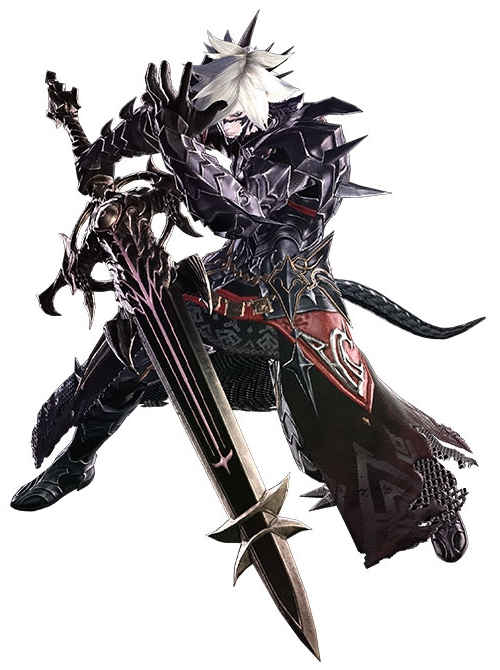 Dark Knight Final Fantasy XIV   The Final Fantasy Wiki   10 years of 500x670