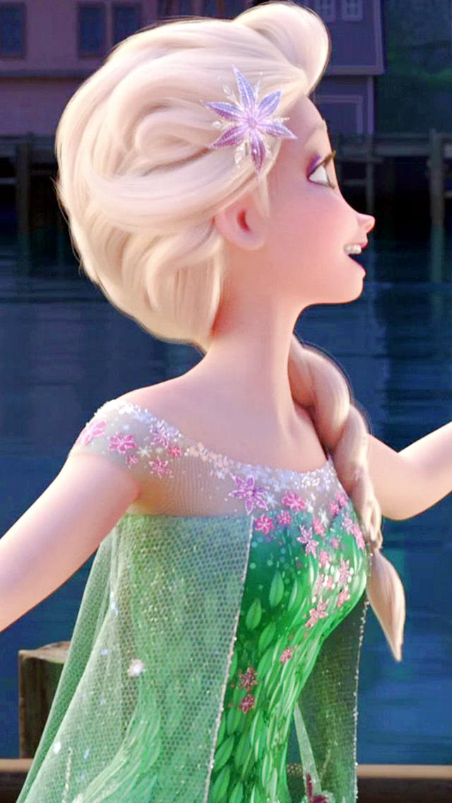 Frozen Fever Elsa phone wallpaper   Frozen Photo 38826028 640x1136