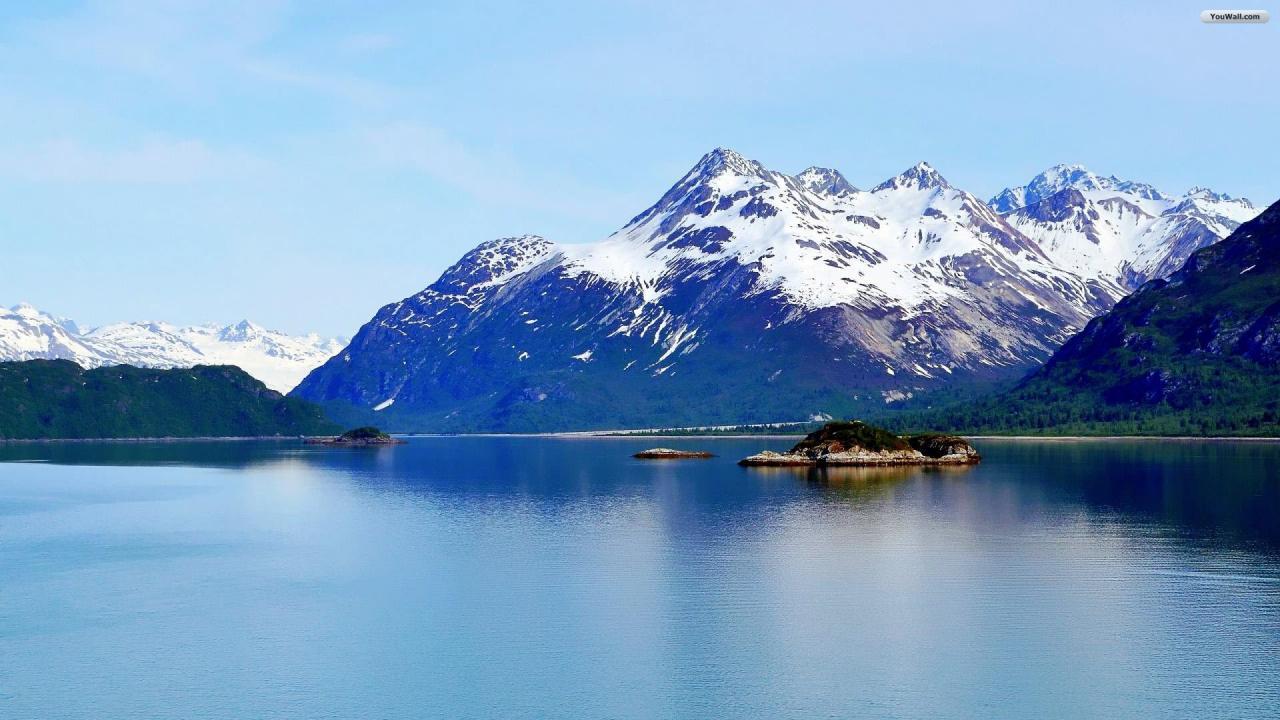 Alaska Glacier Bay Wallpaper   wallpaperwallpapersfree wallpaper 1280x720