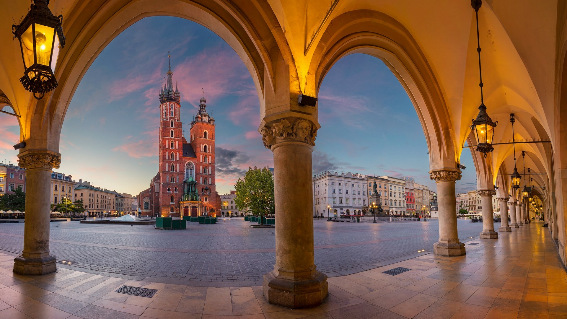 Main Square In Krakow Wallpaper Wallpaper Studio 10 1920x1080