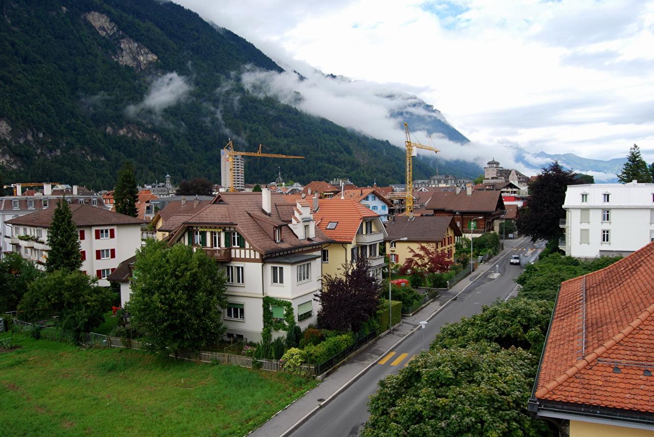 Desktop Wallpapers Switzerland Interlaken Cities 1280x856