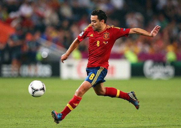 Football Xavi Hernandez hd Wallpapers 2013 594x419