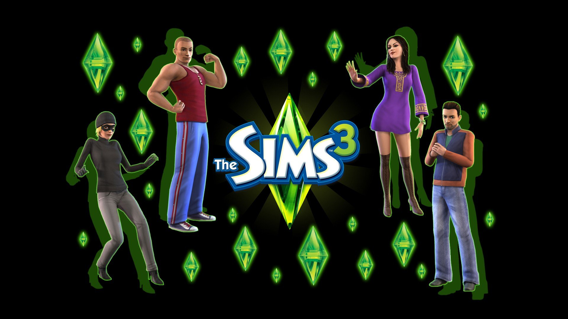 Sims 3 wallpapers Sims 3 background 1920x1080