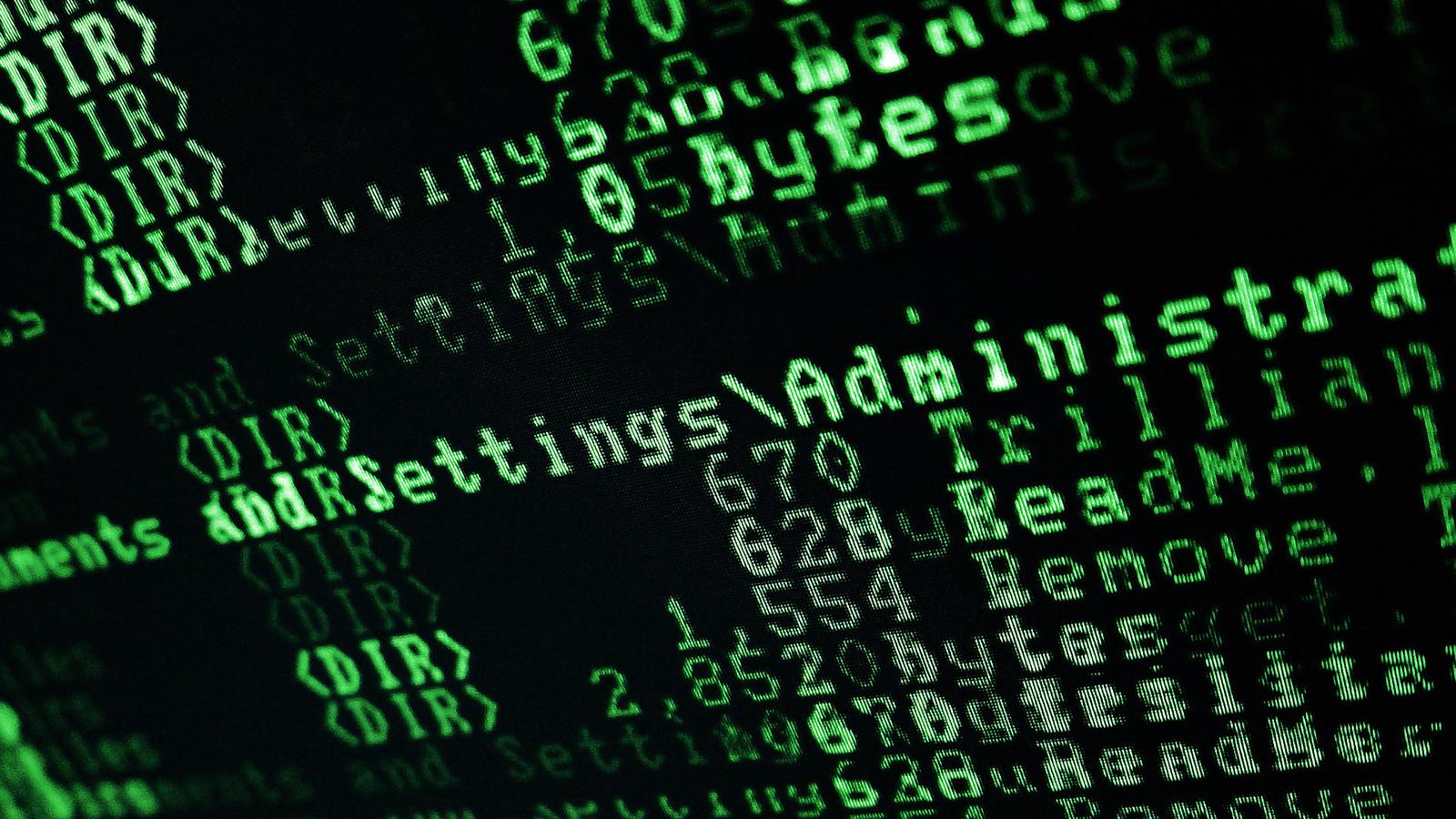 HD wallpapers code hacker Symbols Green System Hi tech photo 1600x900