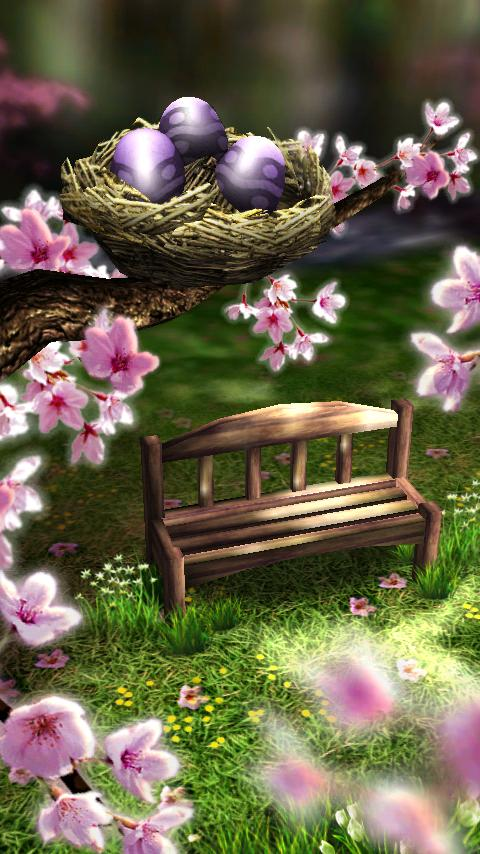 Download 3D Live Wallpaper for Android Spring Zen 480x854