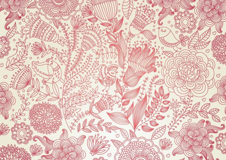 Vector Blog Archive Vintage Floral Design Vector Background 785x557