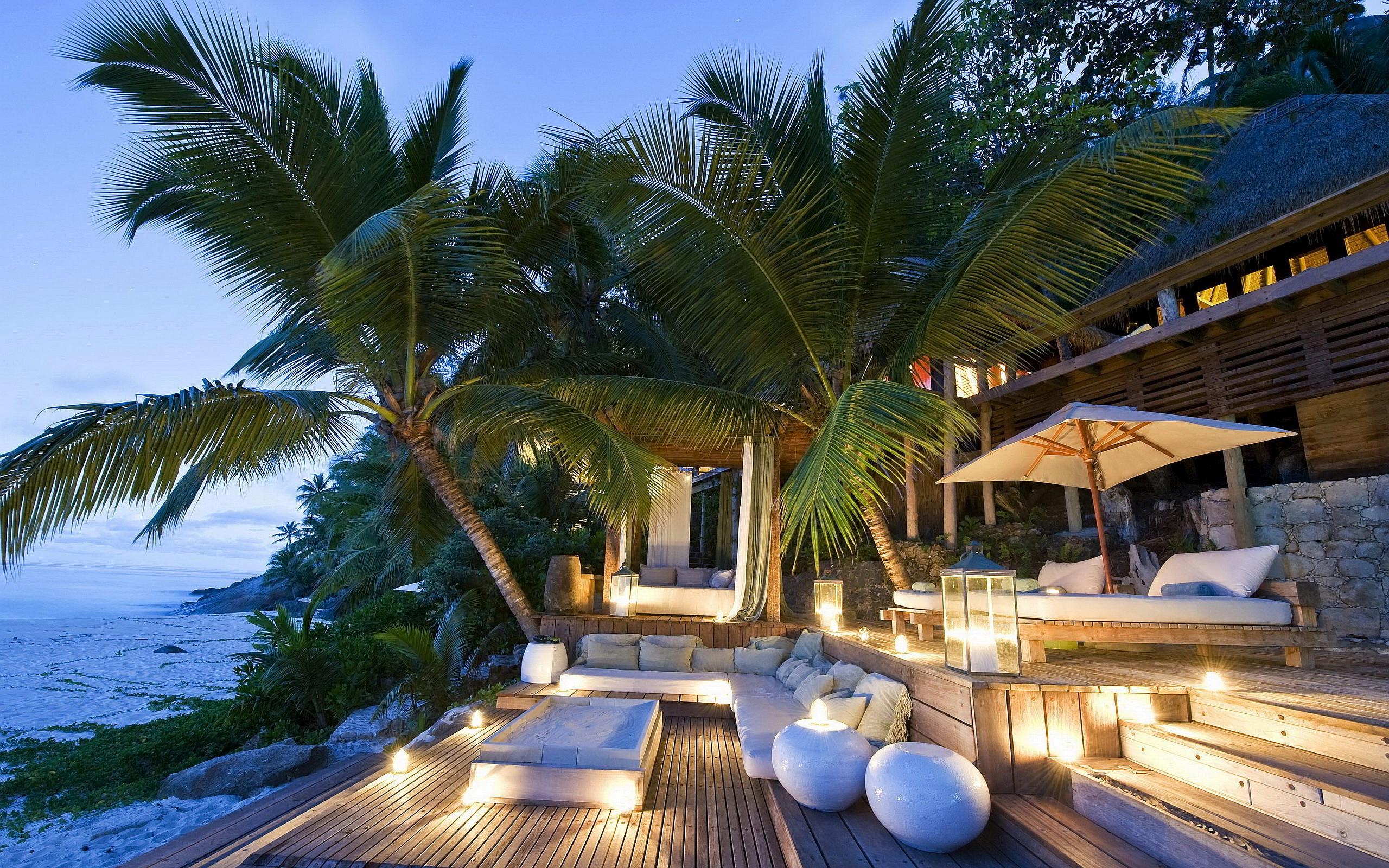 beach resort lovely   HD Desktop Wallpapers 4k HD 2560x1600