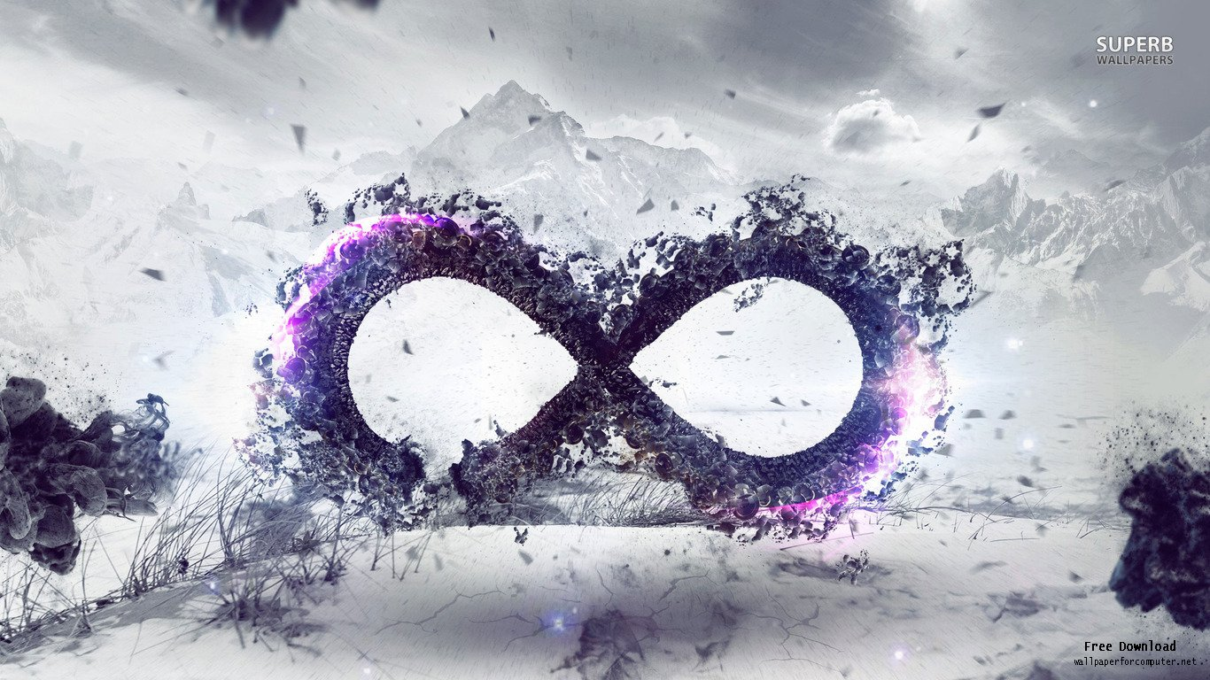 Infinity Sign Wallpaper Wallpapersafari
