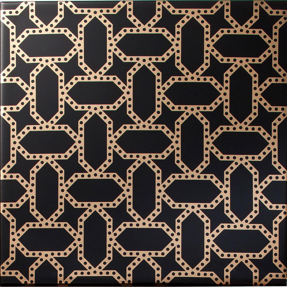 Wallpapers Black Tile Floor 1000x1000