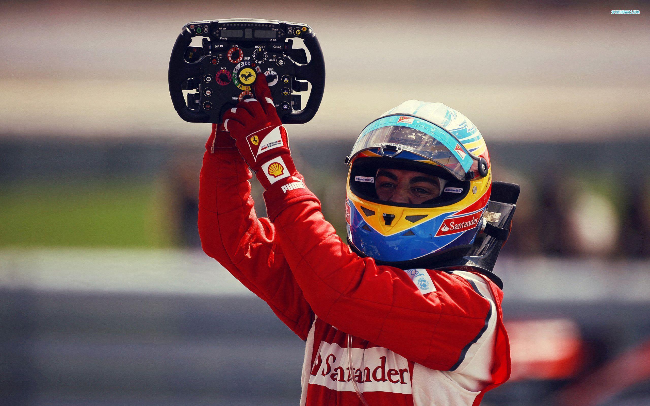Fernando Alonso Wallpapers 2560x1600