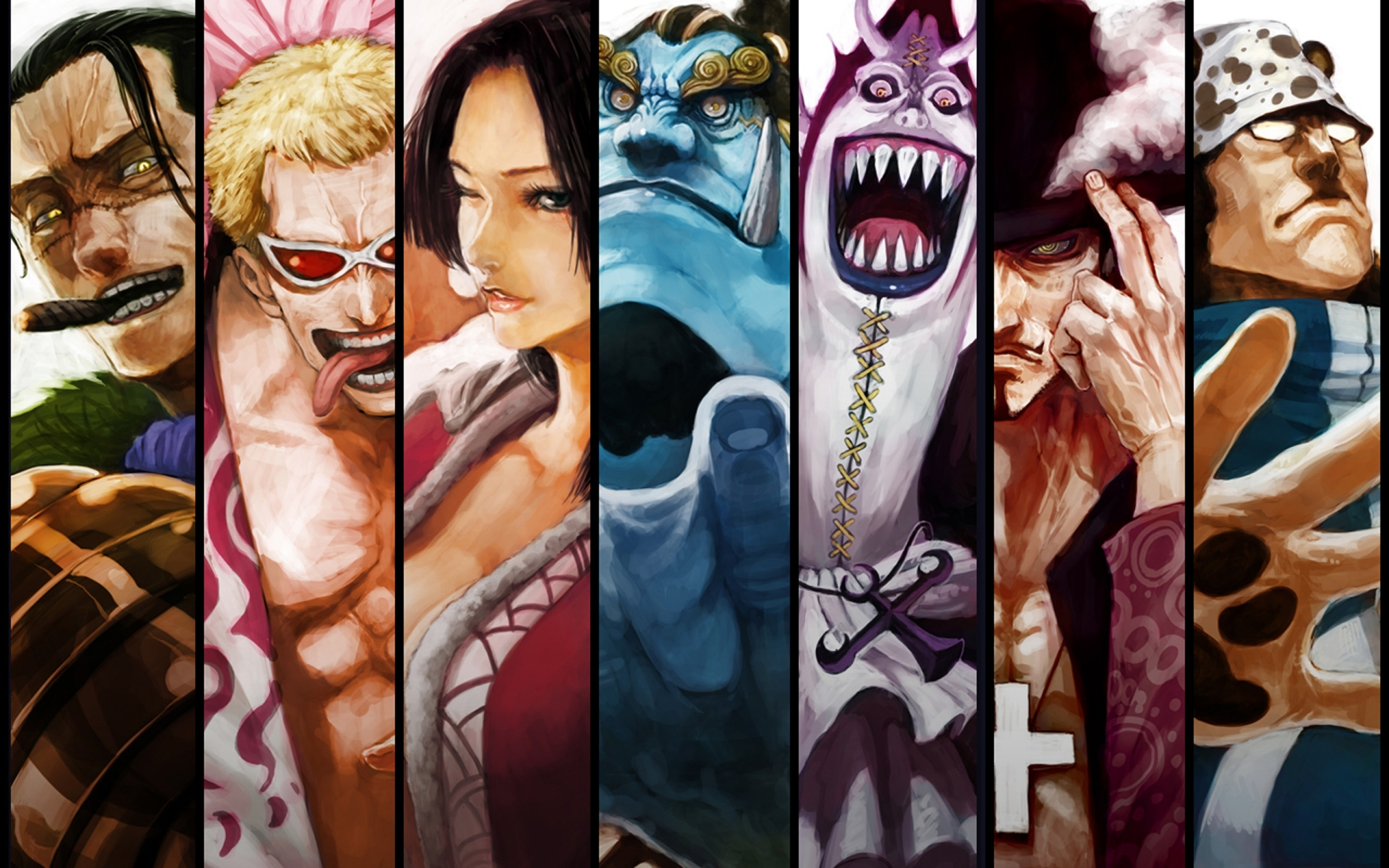 One Piece Characters wallpaper   HD Wallpapers Ultra HD Wallpapers 2560x1600