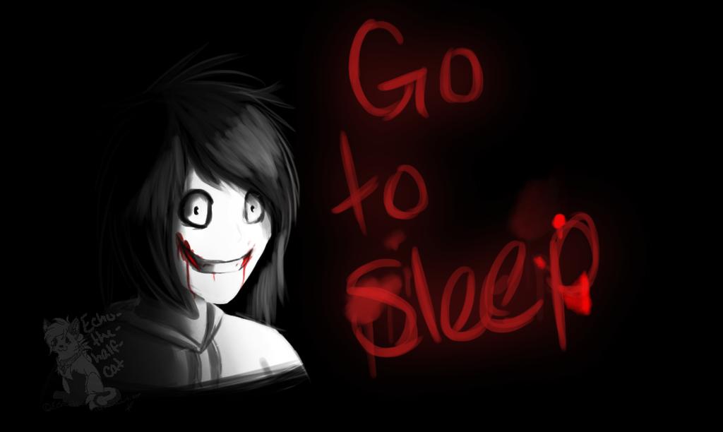 Jeff The Killer Go To Sleep Wallpaper