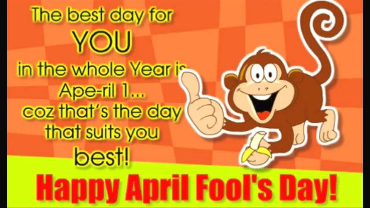 Do You Know Why April 1st Is Celebrated As Fools Day 1280x720