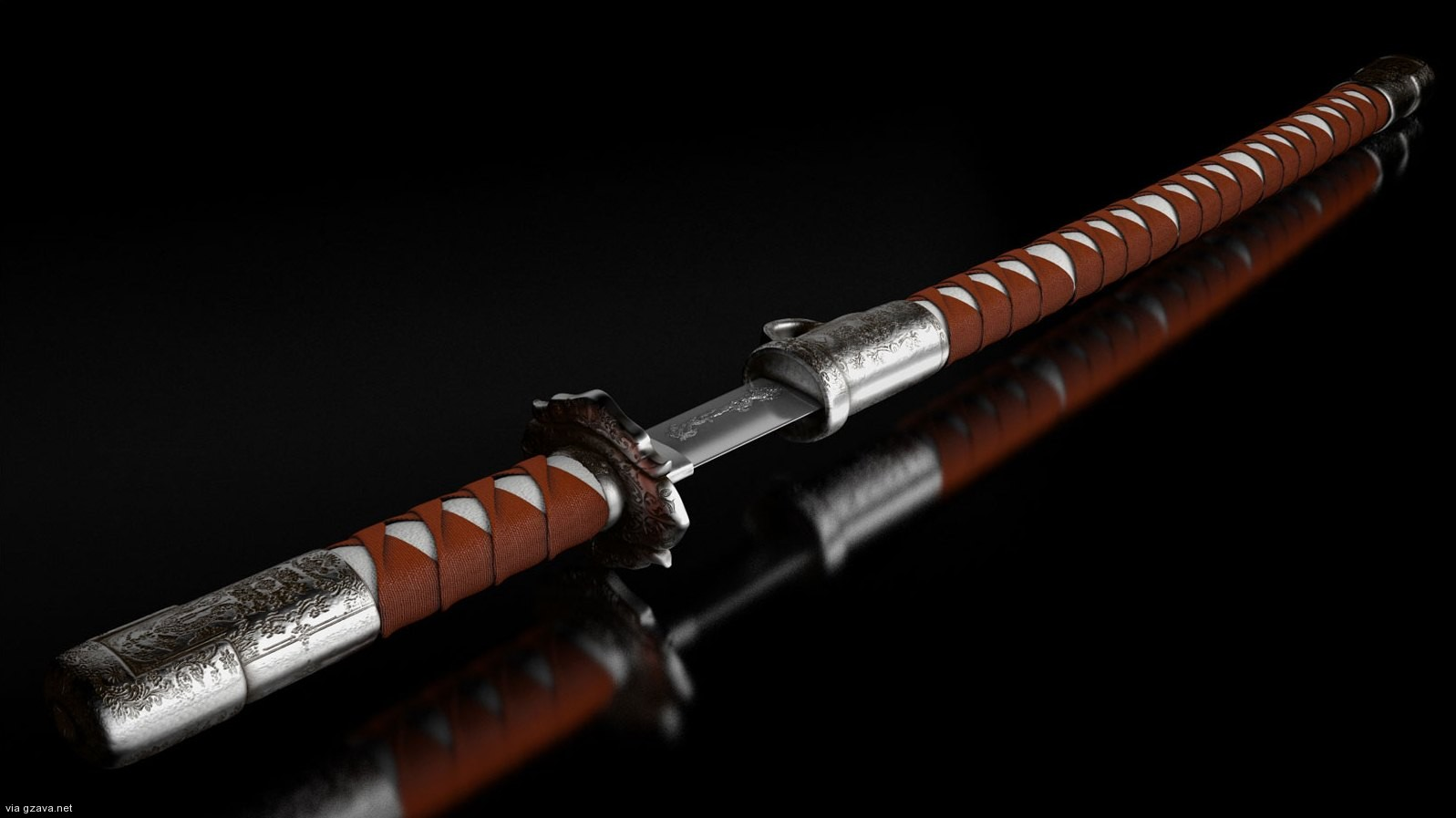 samurai sword wallpaper - wallpapersafari